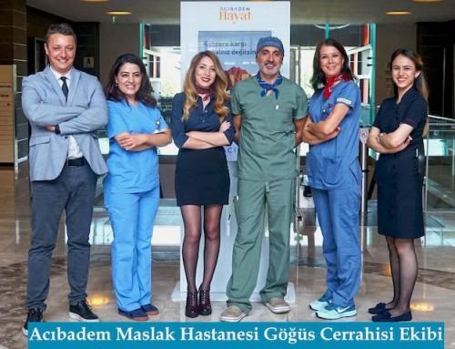 Acıbadem Maslak Hastanesi Göğüs Cerrahisi Kliniği