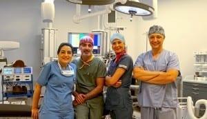 Göğüs cerrahisi Semih Halezeroğlu ve ekibi